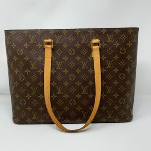 100% Auth Louis Vuitton Luco Tote Bag